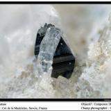 Anatase Col de la Madeleine, Savoie, France fov 1.5 mm (Author: ploum)