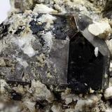 Vesuvianite Ariccia, Alban Hills, Rome Province, Latium, Italy 13.16 mm Vesuvianite crystal. Ex F.Krantz Collection (Author: Matteo_Chinellato)