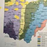 Ohio-Michigan fluorite localities (Author: John Medici)
