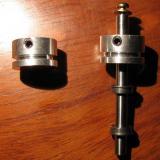 Ambos ejes (motor y base), deben de tener la misma pieza para sincronizar el movimiento. (Autor: Oscar Fernandez)
