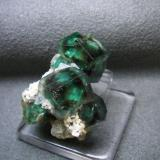 "Fluorite Erongo Mountains, Namibia less than 1.25"" X 1.25"" X 1.25"" sorry for that I cannot prove the detail of dimensions. (Author: pro_duo)"