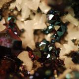 Pyrite & dolomite Duff Quarry, Huntsville, Ohio, USA 6 cm field of view (Author: John Medici)