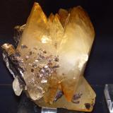 Calcita & Esfalerita Elmwood mine, Tennesse, Illinois 21x18x14 cm (Autor: jaume.vilalta)