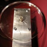 Y aquí la peana. 12cm de diámetro y 1,5cm de altura (Autor: Oscar Fernandez)
