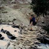 Yo subiendo. Nanga Parbat Mi lugar en una altura de aprox. 5.200 m (Autor: Peter Seroka)