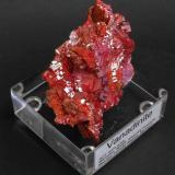 Vanadinite ACF mine area, Mibladen, Midelt, Khenifra Province, Meknes-Tafilalet Region, Morocco. 10 x 5 x 4 cm; 182 gram BIG VANADINITE (Author: Louis Friend)