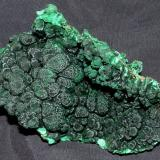 Malachite Shaba, Democratic Republic of the Congo 12 x 6 x 1.5 cm  (Author: Joseph D'Oliveira)