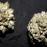 Marcasite Belle Fourche Reservoir, South Dakota, USA 2.5 cm in diameter Two additional spike balls of marcasite from Belle Fourche (Author: Joseph D'Oliveira)