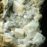 Fluorita Mina Peña de la Cueva - Burón - León - Castilla y León - España 90 x 65 x 60 mm Detalle (Autor: Joan Martinez Bruguera)