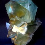 Fluorite Xianghuapu Mine, Hunan Province, China Specimen height 115 mm (Author: Tobi)