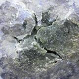 Anapaita Bellver de Cerdanya, Cerdanya, Lleida, Catalunya, España. 11 x 6 cm nódulo.  Cristalización 6 cm. (Autor: Carles Rubio)