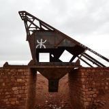 Cabezal de la rampa de la mina ACF. G. Sobieszek photo. (Autor: Josele)