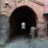 Calle - túnel en Marrakech. G. Sobieszek photo. (Autor: Josele)