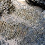 Canteras en los basaltos columnares de Sidi Rahal donde aparecen ágatas y geodas de amatista. Fot. K. Dembicz. (Autor: Josele)