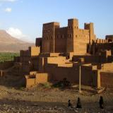 Tradicional fortaleza marroquí en el valle del Draa. Fot. K. Dembicz. (Autor: Josele)