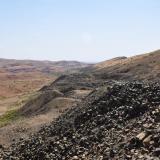 Escombreras de las minas de amatista en Sidi Rahal. Fot. K. Dembicz. (Autor: Josele)