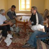 El té es el símbolo de la hospitalidad en Marruecos. Fot. J. Scovil. (Autor: Josele)