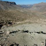 Excavaciones en Tizi-n-Ouazane, Imilchil. Fot. J. Scovil. (Autor: Josele)