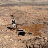 Excavaciones en Taouz. Fot. J. Scovil. (Autor: Josele)