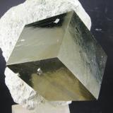 Pirita Mina Ampliación a Victoria  -  Navajún - La Rioja - España Cristal de 6.8 cm Detalle (Autor: Diego Navarro)