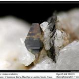 Anatase Col de la Madeleine, La Lauzière, Savoie, Rhône-Alpes, France fov 7 mm (Author: ploum)