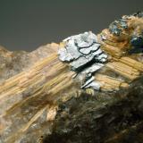 Rutilo xx & Hematites Ibitiara - Estado de Bahia - Brasil 70 x 53 x 35 mm Detalle (Autor: Joan Martinez Bruguera)