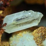 Cerusita Mina Victoria, Almería, Andalucía, España. Cristal de 4 mm. (Autor: Juan Miguel)