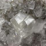 Calcite Linwood Mine, Buffalo, Scott Co., Iowa, USA Twin is 5 x 4.5 cm (Author: Matt_Zukowski)