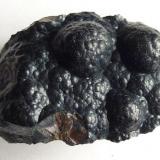 Goethita<br />Minas de hierro de Ojos Negros, Ojos Negros, Comarca Jiloca, Teruel, Aragón, España<br />3 x 2 cm.<br /> (Autor: javier ruiz martin)