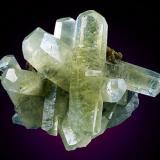 Calcite, pyrite Sweetwater Mine, Ellington, Viburnum Trend District, Reynolds Co., Missouri, USA 65 mm x 55 mm x 40 mm Photo Dan Weinrich (Author: Carles Millan)