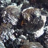Pirolusita Mina Haití, Cabezo de San Gines, Sierra Minera de Cartagena y La Unión, Cartagena, Murcia, España 4 x 4 cm.  Otro detalle más de la misma pieza (Autor: javier ruiz martin)