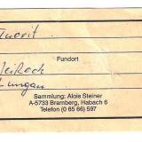 _Ex Alois Steiner specimen (well-known strahler from Austria) (Author: Tobi)