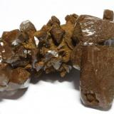 Calcita, detalle pieza anterior Mina Herculano, Los Belones, Sierra de La Unión-Cartagena, Cartagena, Murcia 4,2 x 2,7 x 2 cm (Autor: Carles)