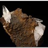 Aragonito Minas de Ojos Negros, Teruel, España Cristales de 2,5 cm. Recolectado en 1994. (Autor: Rafa Muñoz(mineralvarado))