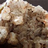 Calcite, Frizington Parks Mine, Frizington, Cumbria, UK FOV 30 x 25 mm (Approx) (Author: nurbo)