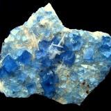 Fluorite Blanchard Mine, Bingham, Hansonburg District, Socorro Co., New Mexico, USA Specimen size 90 mm (Author: Tobi)