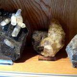 U.S. calcites from Sweetwater Mine and Elmwood Mine (Author: Tobi)