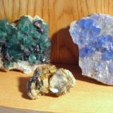 Fluorite classics: Rogerley Mine, Dal'negorsk, Blanchard Mine (Author: Tobi)