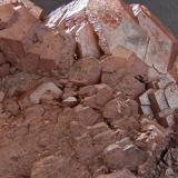 Calcite GB4 pit, Gill Brow Iron Mine, Lindal in Furness, Cumbria, England, UK. FOV 40 x 30 mm approx (Author: nurbo)