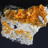 Wulfenite Stefanie Mine, Bad Bleiberg, Bleiberg District, Carinthia, Austria Specimen size 6,5 cm (Author: Tobi)