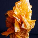 Wulfenite San Francisco Mine, Sonora, México 7x4 cm (Author: Enrique Llorens)