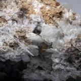Celestina & Calcita La Algameca - Sierra minera de Cartagena y la Unión - Cartagena - Murcia - España 130 x 95 x 65 mm Detalle (Autor: Joan Martinez Bruguera)