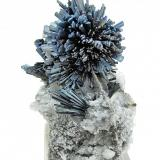 Stibnite Chashan Mine, Dachang, Nandan, Hechi, Guangxi Zhuang, China 110 mm x 76 mm Full view (Author: Carles Millan)