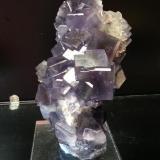 Fluorita, cuarzo Geoda del Llisu, Berbes, Asturias, España 15x8, cristales de hasta 3 cm (Autor: Raul Vancouver)