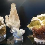 Calcita, Fluorita, Barita Mina Moscona, Solis, Asturias, España varios (Autor: Raul Vancouver)