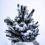 Stibnite, barite Baia Sprie (Felsöbánya), Maramures, Romania 84 mm x 73 mm (Author: Carles Millan)