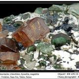 Vesuvianite Felskinn, Fee Glacier, Saas Fee, Zermatt, Wallis, Switzerland fov 8mm (Author: ploum)