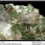 Titanite Talèfre glacier, Mont Blanc, Chamonix, Haute-Savoie, Rhône-Alpes, France fov 14 mm (Author: ploum)