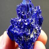 Azurite Tsumeb, Namibia 53 x 15 x 14 mm (Author: Pierre Joubert)
