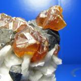 Blenda acaramelada Las Mánforas, Áliva, Cantabria, España Cristales >1cm Otro detalle de la misma pieza (Autor: yowanni)